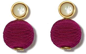 Lizzie Fortunato Mara Pink Earrings