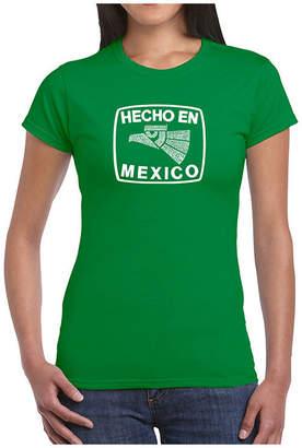 LOS ANGELES POP ART Los Angeles Pop Art Hecho En Mexico Graphic T-Shirt