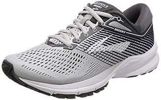 Brooks Women's Launch 5 Running Shoe (BRK-120266 1B 39375A0 9.5 BLK/Tea/WHT)