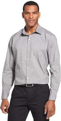 Van Heusen Men's Traveler Stretch Classic-Fit No-Iron Button-Down Shirt
