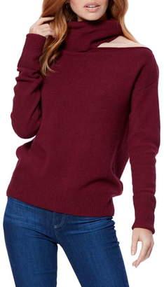 Paige Raundi Cutout Shoulder Sweater