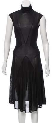 Balenciaga Silk Midi Dress w/ Tags