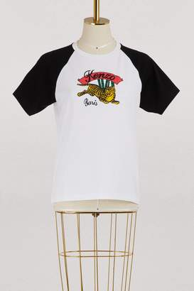 Kenzo Cotton jumping tiger T-shirt