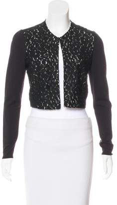Lafayette 148 Embroidered Lightweight Cardigan