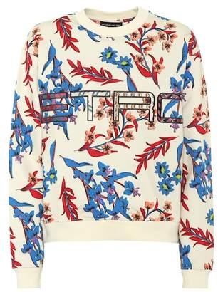 Etro (エトロ) - Etro Floral-printed cotton sweatshirt