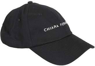 Chiara Ferragni Logo Print Cap