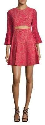 BCBGMAXAZRIA Floral Lace Dress