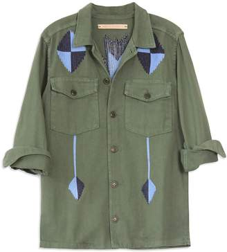 BLISS AND MISCHIEF Pray For Rain Army Jacket
