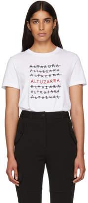 Altuzarra White Multi Logo T-Shirt