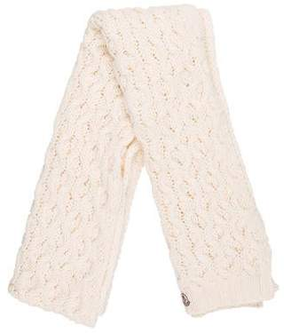 Moncler Knit Wool Scarf