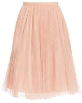 Jenny Yoo Lucy Tulle Midi Skirt