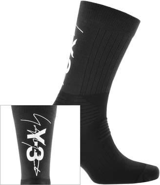 Y-3 Y3 Tube Socks Black