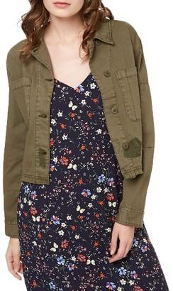 Women's Sanctuary Lieutenant Crop Military Jacket $139 thestylecure.com
