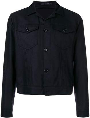 Tagliatore fitted shirt jacket