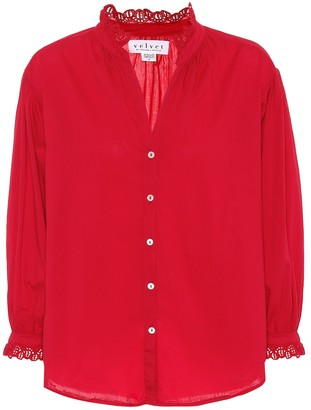 Velvet Myrella cotton shirt