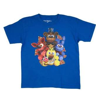 Five Nights At Freddy's Five Nights at Freddy's Pizza Group Royal Blue Cotton T-Shirt (Little Boys & Big Boys)