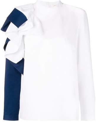 DELPOZO ruffled shirt