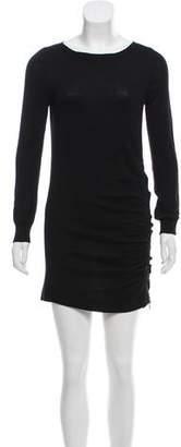 Joseph Long Sleeve Wool Dress