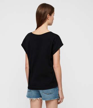 AllSaints Tystripe Pina T-Shirt
