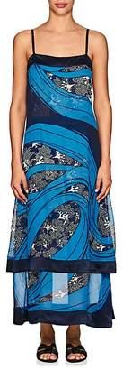 Warm Women's Carolyn Georgette Sleeveless Dress