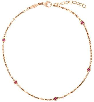 Jacquie Aiche 5 ruby spaced out anklet