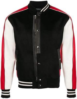 Alexander McQueen button-up bomber jacket