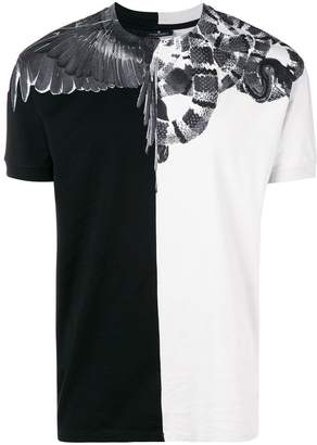 Marcelo Burlon County of Milan snakes wings T-shirt