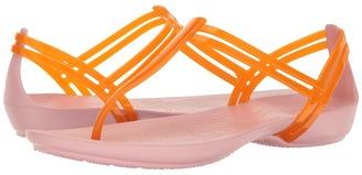 Crocs - Isabella T-Strap Women's Sandals $35 thestylecure.com