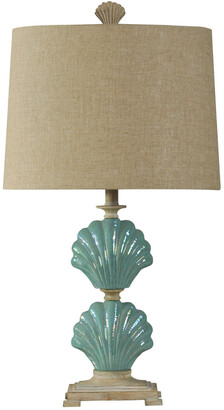 Stylecraft Style Craft 31In Clam Shells Lamp