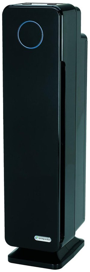 "Germ Guardian Elite 28"" 4-in-1 Digital HEPA Tower w/ UV-C Air Purifier & Digital Display"