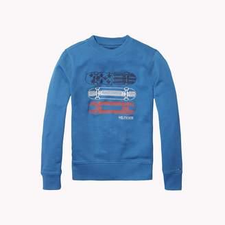 Tommy Hilfiger TH Kids 3-D Embroidery Sweatshirt