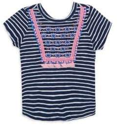 Hatley Toddler's, Little Girl's & Girl's Striped Cotton Tee