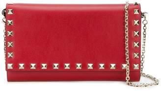 Valentino Rockstud chain wallet