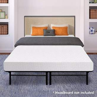 At Walmart.com · Best Price Mattress 8 Inch Memory Foam Mattress And  Dual Use Steel Bed Frame Set