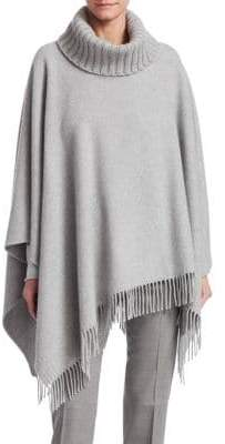 Fabiana Filippi Wool-Blend Cape