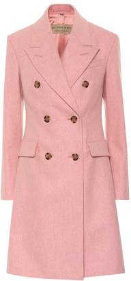 Burberry (バーバリー) - Burberry Double-breasted virgin wool coat
