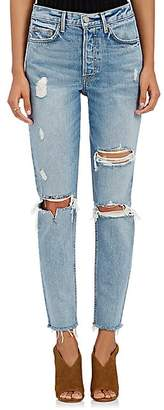GRLFRND Women's Karolina Distressed Skinny Jeans - Lt. Blue