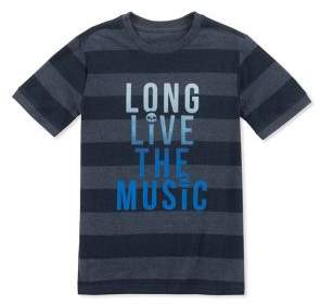 Lucky Brand Boy's Striped Graphic Tee