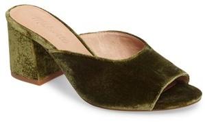 Women's Madewell Beth Velvet Slide Sandal