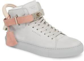 Buscemi Ankle Strap High Top Sneaker
