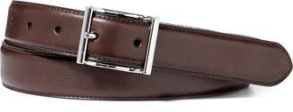 Ralph Lauren Vachetta Leather Dress Belt