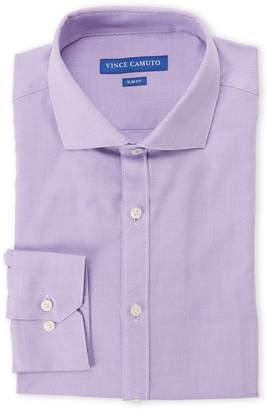 Vince Camuto Grape Mini Dobby Slim Fit Dress Shirt