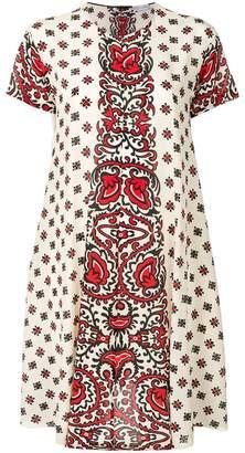 RED Valentino printed flared dress