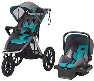Evenflo Two-Piece Victory Plus Jogger Travel System Stroller LiteMax Car Seat Set