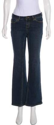 Michael Kors Low-Rise Wide-Leg Jeans