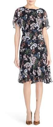 Rachel Roy Collection Flutter Sleeve Dress