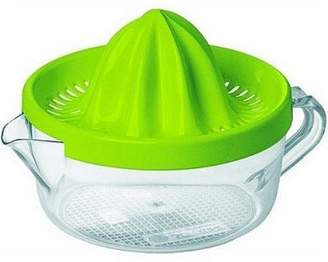 Emsa Superline Citrus Press, Transparent, Green, 4.0L