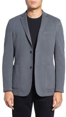 Vince Camuto Slim Fit Stretch Knit Blazer
