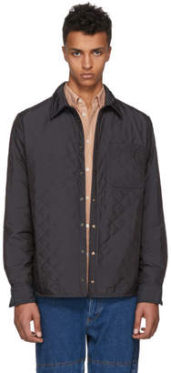 Y/Project Black Quilted Shirt