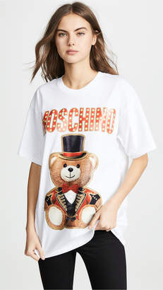 Moschino Top Hat Oversized Bear Tee